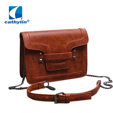Cathylin 2016 Women's Bag New Designer Crossbody Bags Women Leather Handbags Shoulder Small Bag Women Messenger Bag