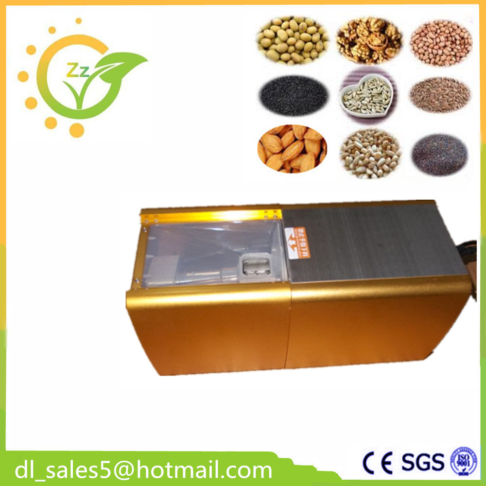 Small Sesame Coconut Oil Extraction Machine, Cold Oil Press, Oil Expeller, Automatic Mini Oil Press Machine