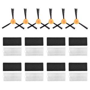 Kompatybilny z Ecovacs DEEBOT filtry szczotki części zamienne do N79 N79S próżni robota