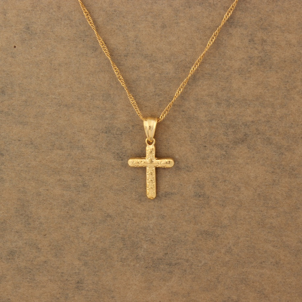 Cross necklace women men gold color pendant necklace christ savior cross necklace women men gold color pendant necklace christ savior for women men crucifix jesus cross jewelry in pendants from jewelry accessories on biocorpaavc Image collections