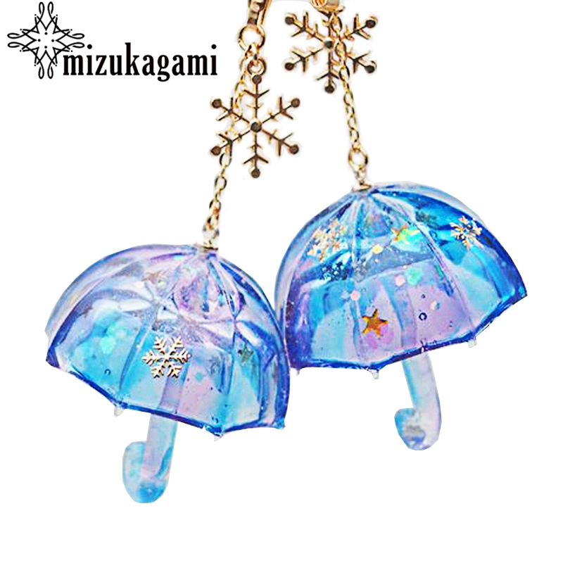 UV Resin Jewelry Liquid Silicone Mold 3D Umbrella Resin Charm Molds 1pcs For DIY Intersperse Decorate Making Jewelry