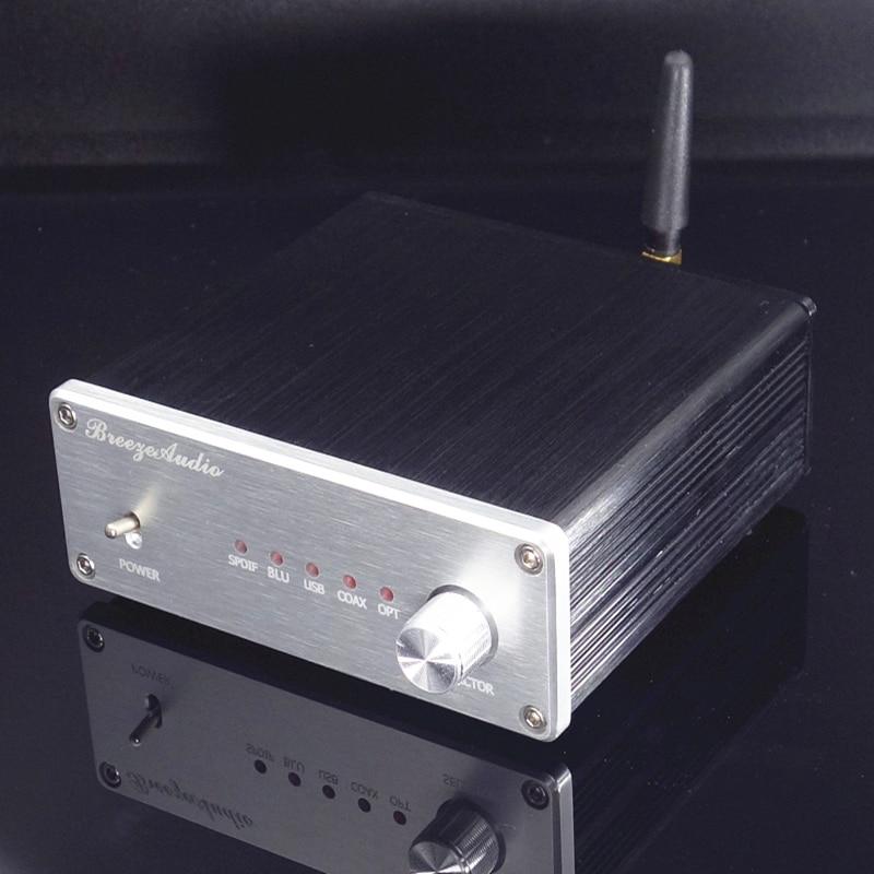 Dekoder AK4490 ak4493 AK4118 DAC wsparcie koncentryczny optyczne USB Bluetooth RCA wejścia wyjście darmowa wysyłka w Konwerter sygnału cyfrowego do analogowego od Elektronika użytkowa na AliExpress - 11.11_Double 11Singles' Day 1