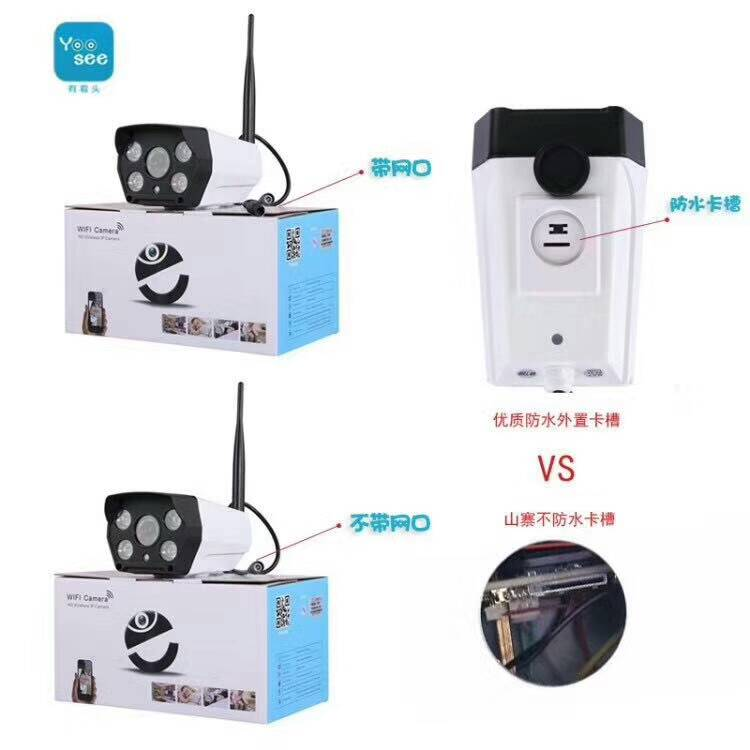 HD 1080P WIFI IP Bullet Camera With TF Card Slot цены онлайн