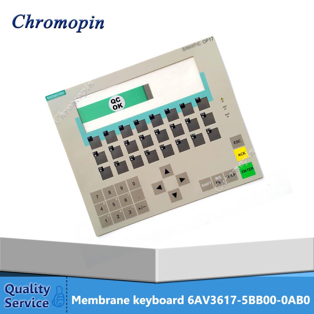 Membrane keyboard for 6AV3617-5BB00-0AB0 6AV3 617-5BB00-0AB0 6AV3617-5BB00-0AB1 6AV3 617-5BB00-0AB1 OP17 membrane keypad for 6av3 617 4fb42 0al0 6av3 617 5ba00 0bc0 6av3 617 4eb42 0al0 op17