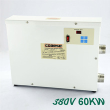 High Quality 60KW 380V Automatic Swimming Pool Thermostat SPA Heater Temperature Controller