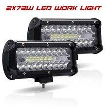 Lumière Led Offroad 4x4 7 Inch 120 W lampes de travail Led pour les tracteurs