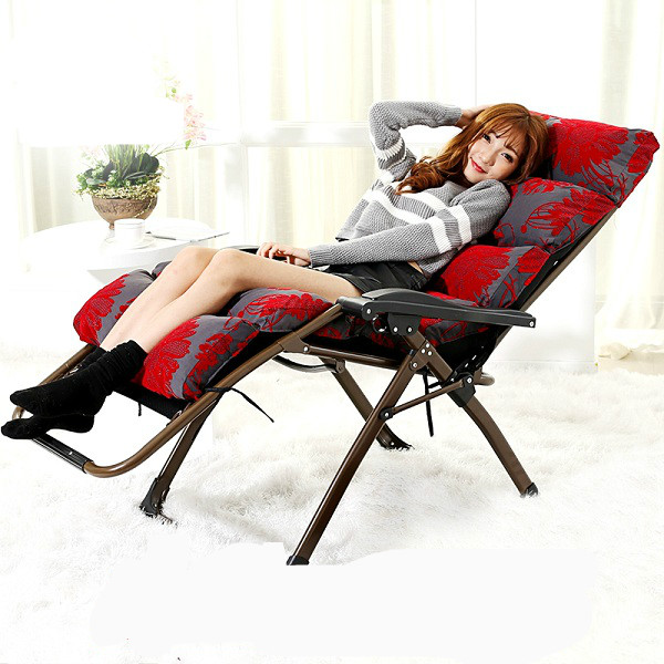 Promotion high quality folding office chair lunch pavilion nap chair leisure beach chair pregnant women lying chair the silver chair