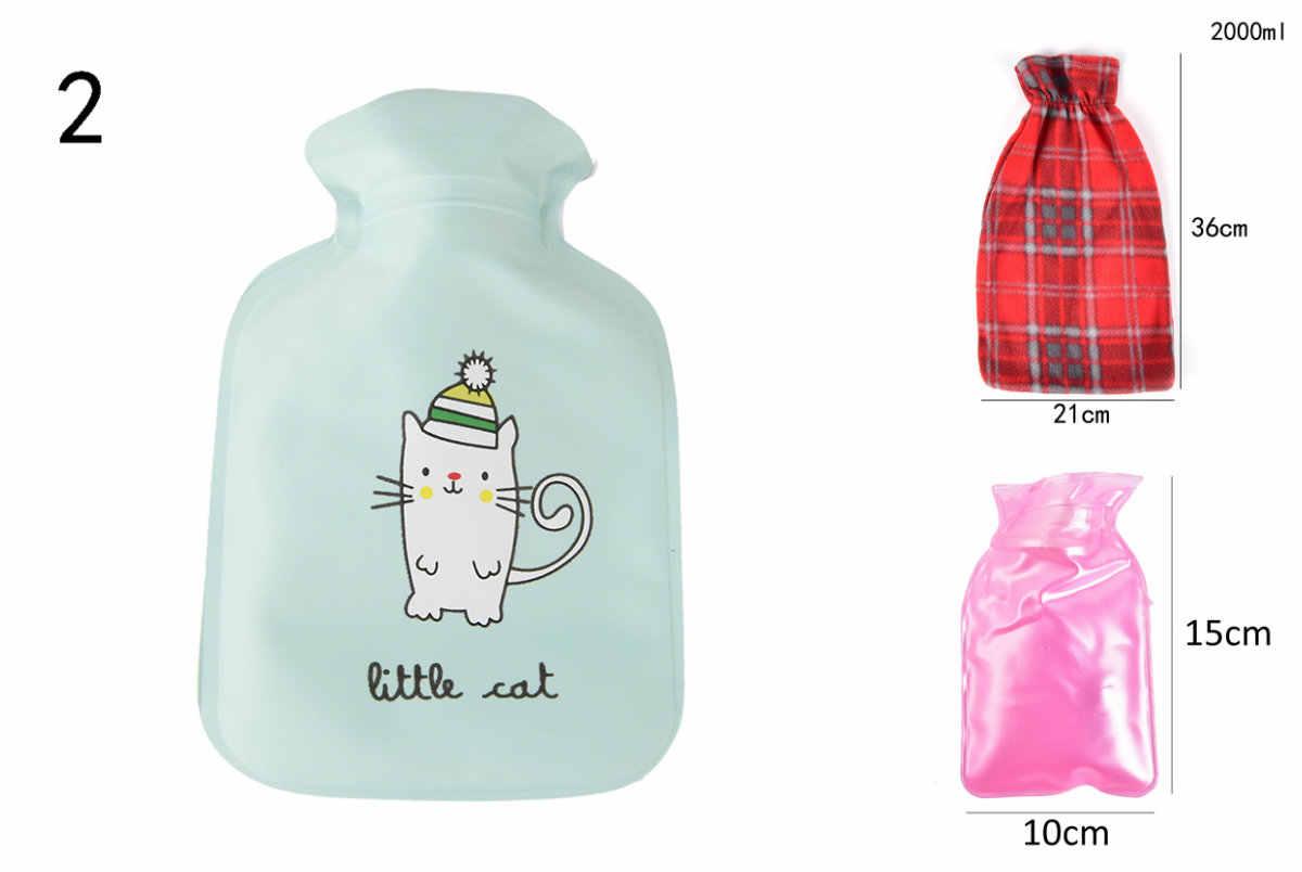 1 Pcshot Dijual Kartun Karet Tas Botol Air Panas Tangan Kaki Pemanasan Santai Mewah Hangat Panas Dingin Outdoor Rumah Tas Tangan diperlukan