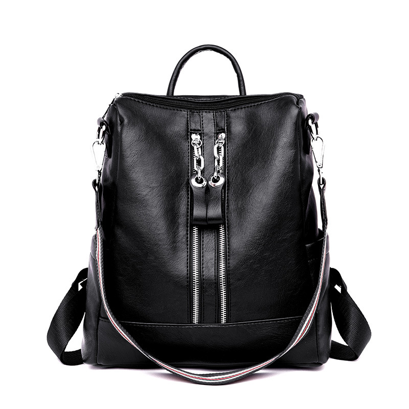 Multifunctional Women Backpack Shoulder Bag Female PU Leather Backpack Bags For Women Sac A Dos