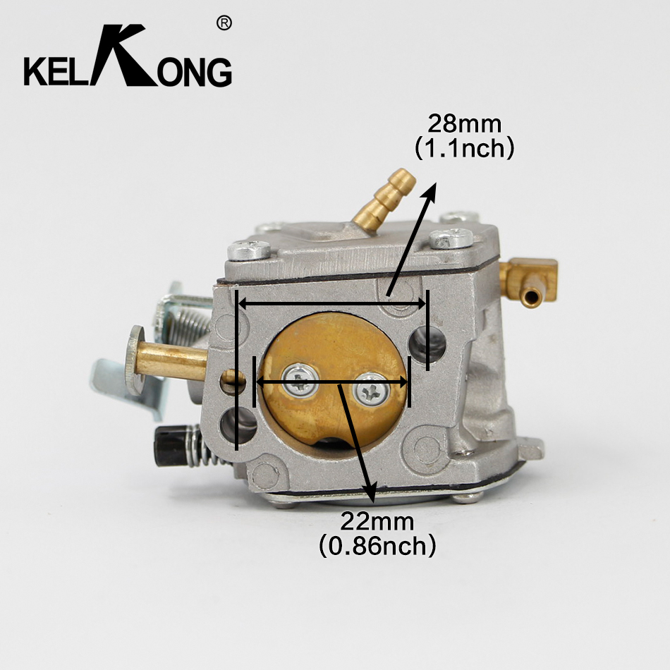 kelkong carburetor for stihl 041 041av 041 051 air fuel filter farm boss gas carb carburador [ 950 x 950 Pixel ]