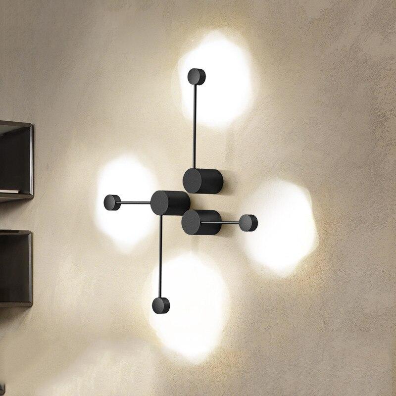 Lampes murales nordiques appliques murales modernes luminaire salon chambre lit chevet éclairage intérieur maison couloir Loft décoration