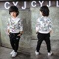 2016 мода Горячие продаем уютный хлопка детей детская одежда шаровары мальчики одежда девочек одежда мальчиков брюки 2-7лет T0159
