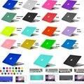 Кристалл/Матовая Жесткий Поверхность Полный Защитный Fundas Capa Чехол Для Ноутбука для Macbook Air 11 13 Pro 13 15 Pro Retina 12 дюймов