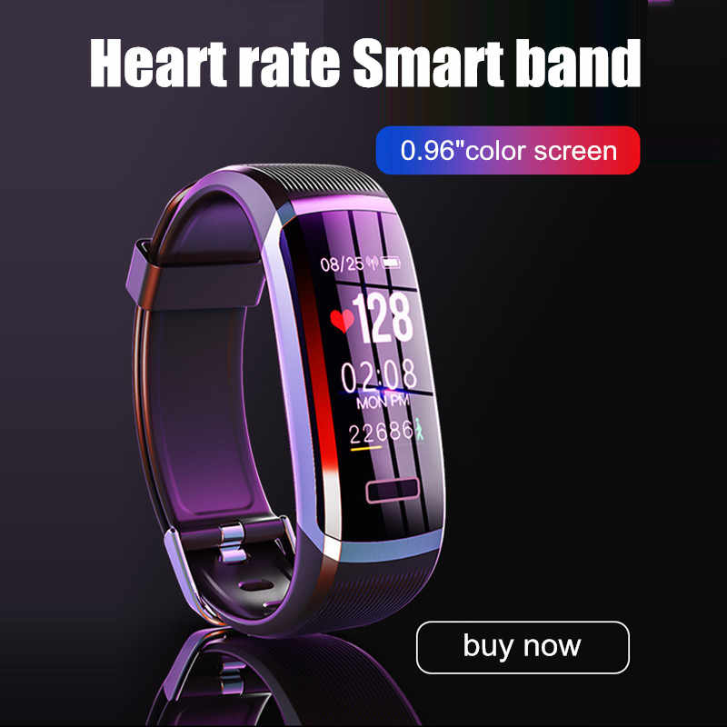 Letike GT101 Smart Bracelet Band dengan Real-Time Monitor Denyut Jantung Pulse IP67 Kebugaran Tracker Wrisatband Smart Watch