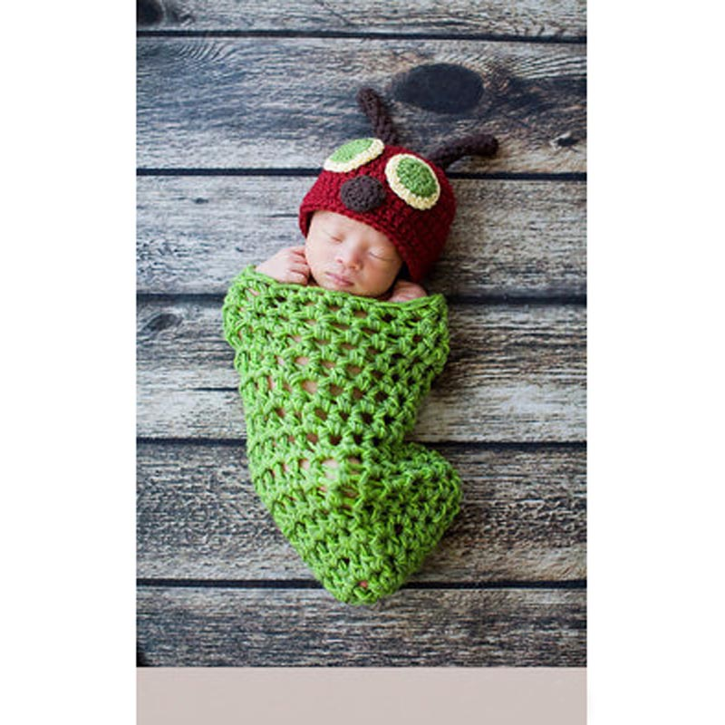 Neugeborenes Baby Boy Fotografie Prop Foto Häkelarbeitknit Kostüm Bär Hat OX