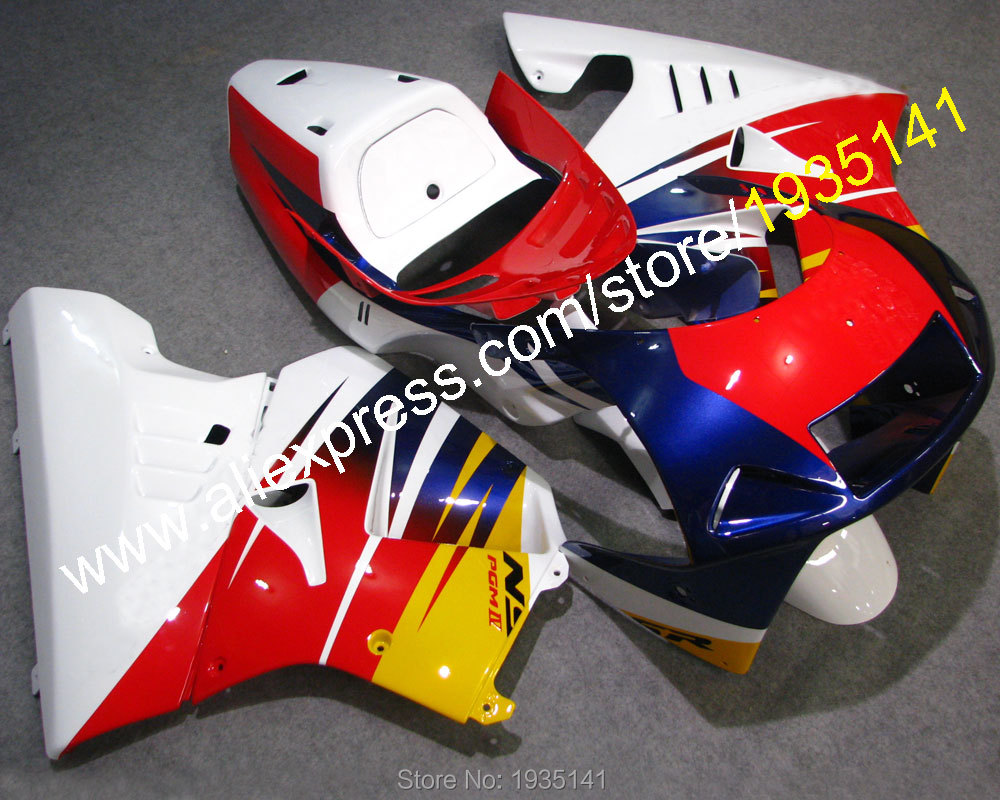 Hot Sales,Moto bodywork kit For Honda NSR250R 1990 1991 1992 1993 MC21 NSR 250 R 90 91 92 93 newest Fairing (Injection molding white blue abs fairing bodywork kit for yamaha fzr250 fzr 250 3ln 1990 1992 91