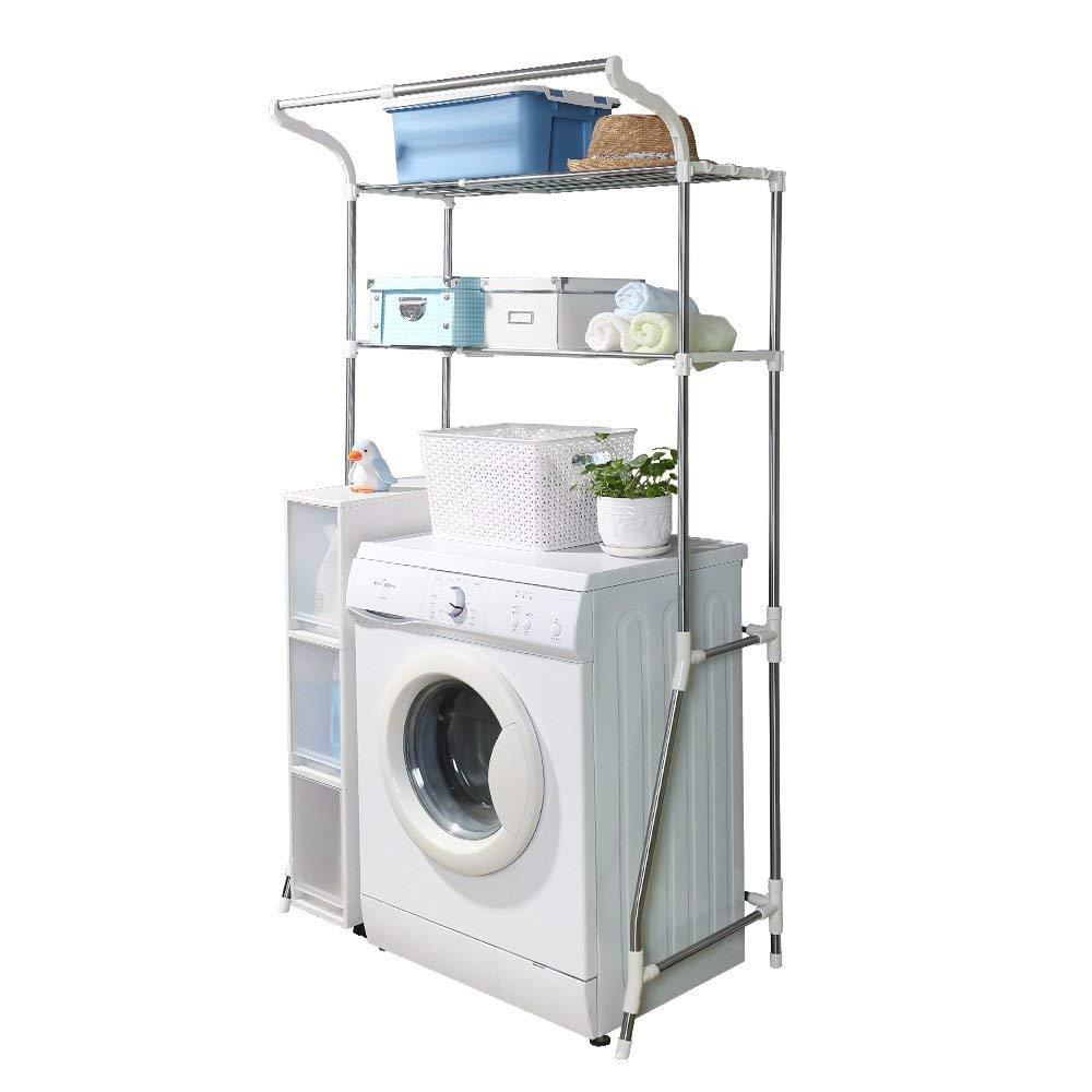 Over Washing Machine Shelves Bathroom Storage Rack Over Toilet