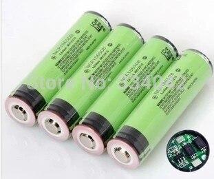 3 шт. новая импортная от 18650 3400 мАч литиевая батарея 3,7 В факел с бесплатной доставкой; доска + защита