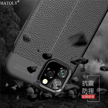 For Cover iPhone 11 Case Shockproof Leather TPU Soft Silicone Phone Bumper Pro Max