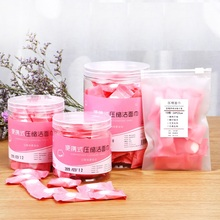 50pcs/lot Outdoor Travel Magic Compressed Cotton Disposable Towel Tablet Capsules Cloth Wipes Paper Tissue Mask