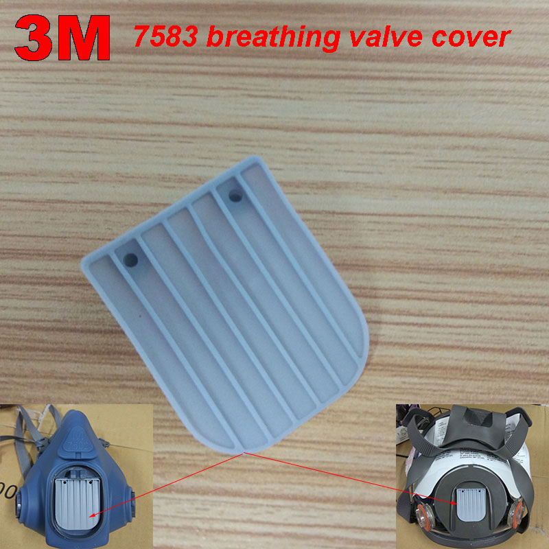 3M 7583 Breathing Valve Piece 7502/6502/6800 Mask Special Breathing Valve Blue Exhaust Vent Breathing Valve