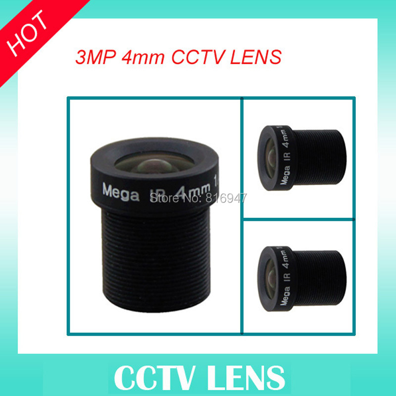 1/2.5 F1.6 CCTV Fixed focal mtv 4mm M12 mount mtv lenses, 3mp mono-focal cctv lens for security camera ir filter цена