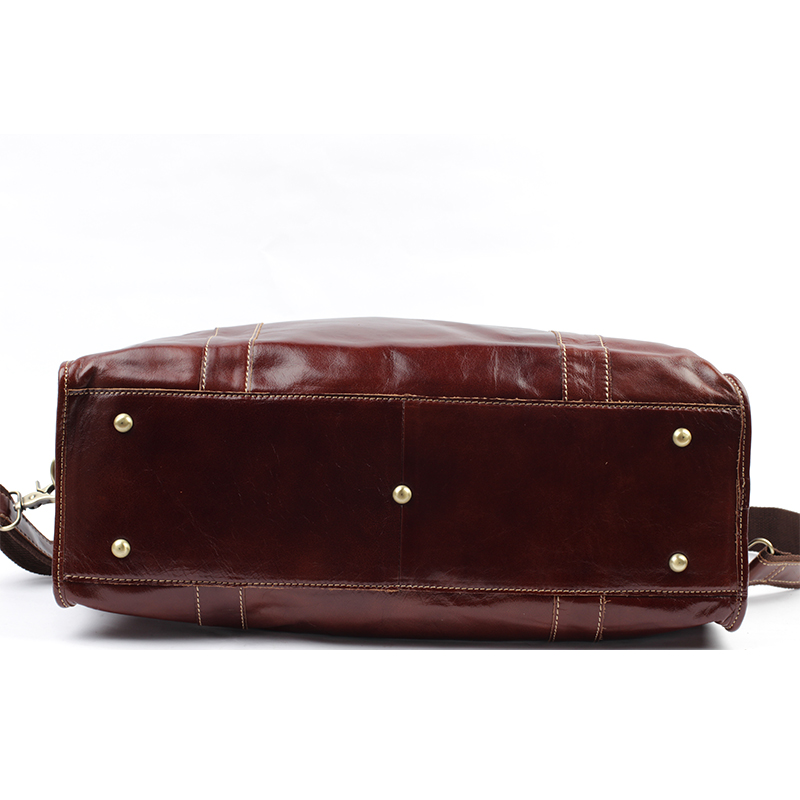 06a894490796 FANKE POLO Genuine Leather Single Adjustable Strap Shoulder Bags Men s  Messenger Crossbody Handbags For Business Bag CH124-in Crossbody Bags from  Luggage ...