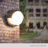 IP65 Waterproof indoor outdoor Led Wall Lamp modern Aluminum Surface Mounted Cube Led Garden Porch Light Indoor
