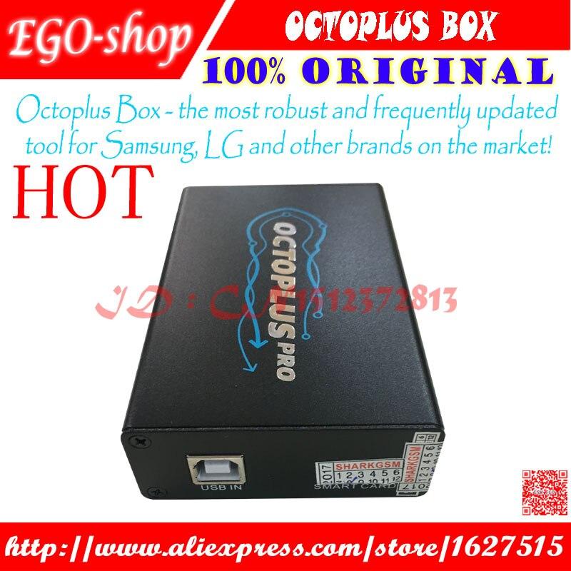 Octoplus pro Boîte avec 19 pcs câbles travail pour Samsung et POUR LG + Medua JTAG Activation