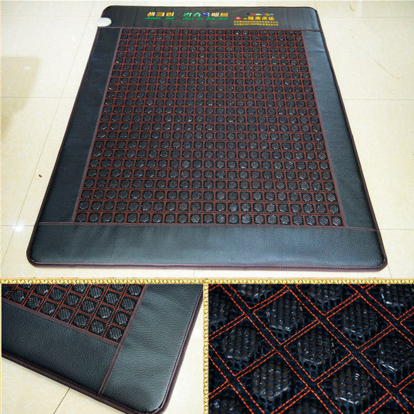 Free Shipping! Good Jade Germanium Stone Mattress Jade Health Care Physical Therapy Mat Tourmaline Heat Mattress Size 120x190CM free shipping jade germanium stone mattress jade health care physical therapy mat tourmaline heating mattress eye cover1 2 1 9m
