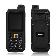 iMAN S2 Waterproof Dust proof Shockproof Mobile Phone IP68 Quad Band 64M+64M 2MP Flashlight Power bank  Cellphone