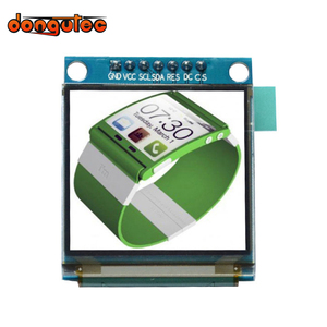 Image 1 - dongutec 1.5 inch 7PIN Full Color OLED module Display Screen SSD1351 Drive IC 128(RGB)*128 SPI Interface for 51 STM32 Arduino