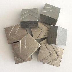 DS12 Steengroeve Bladen Segment D3500mm Diamant Segmenten voor Snijden Graniet Blok Steengroeve 24*13.5/12.5/11.5 * 30mm Een Set 180PCS