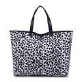 2016 classic bag shopping bag leopard personality villi cloth grain bag fashion women handbag A022