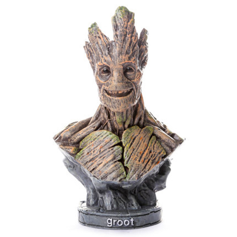 Guardians Of The Galaxy Cosmic Engineers Treant 1:4 Resin Bust Superhero Bounty Hunter Desktop Decoration G1688 трехколесный самокат cosmic zoo galaxy one космик зоо гэлакси 1 cosmic zoo