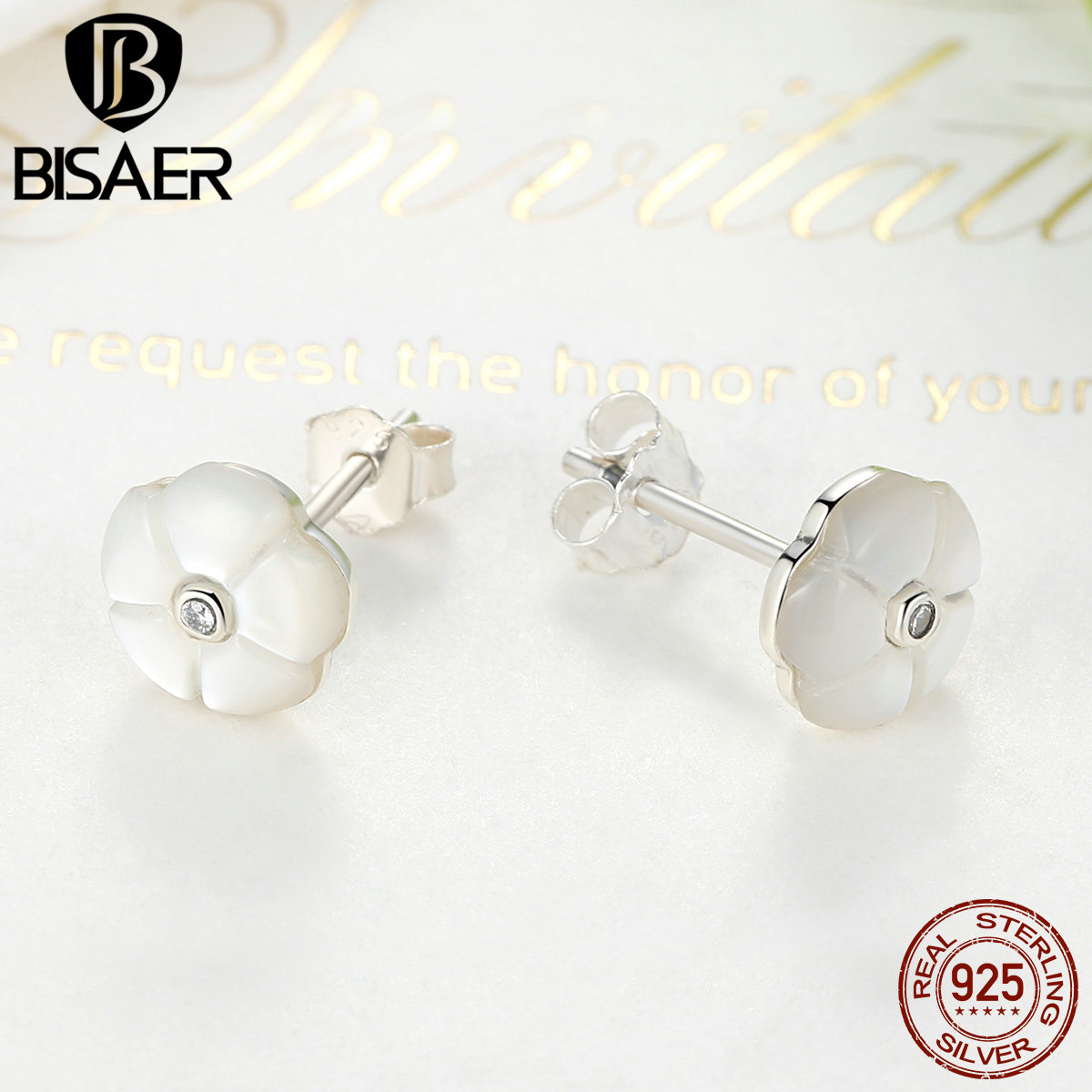 product stud from crystal jade popular bengen fashion atmosphere embellish jewelrysmy deal charming round earrings