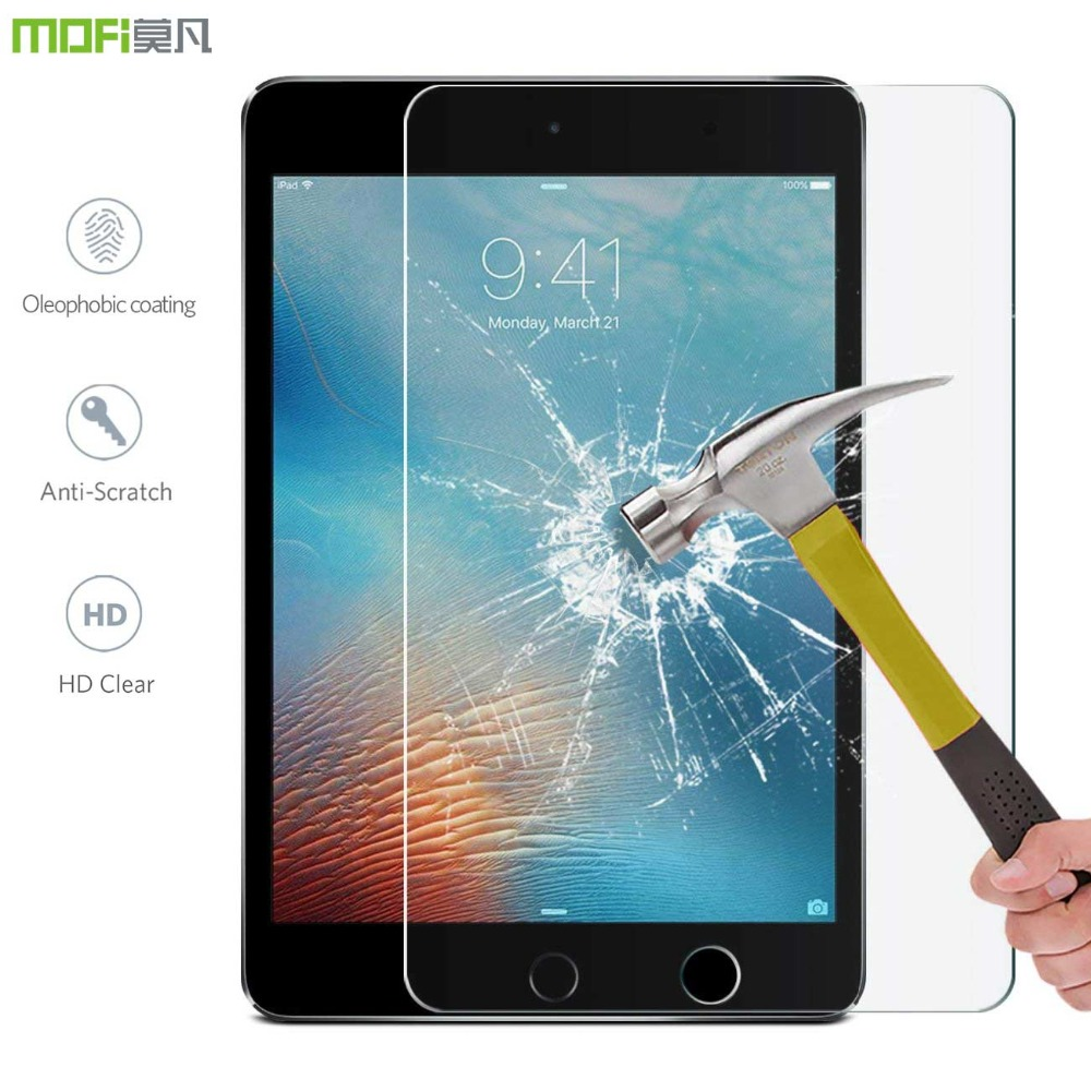 Mofi Glass for iPad 2017 Tempered 2018 Screen protector ipad 9.7 glass 9 7 protective film