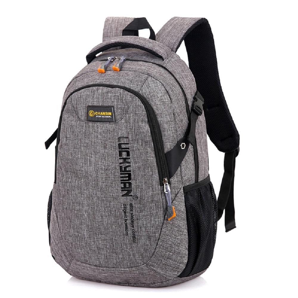 Backpack Canvas Travel Backpacks 2019 New Fashion Men's Computer Bags High School College Students Laptop Bag Women Designer