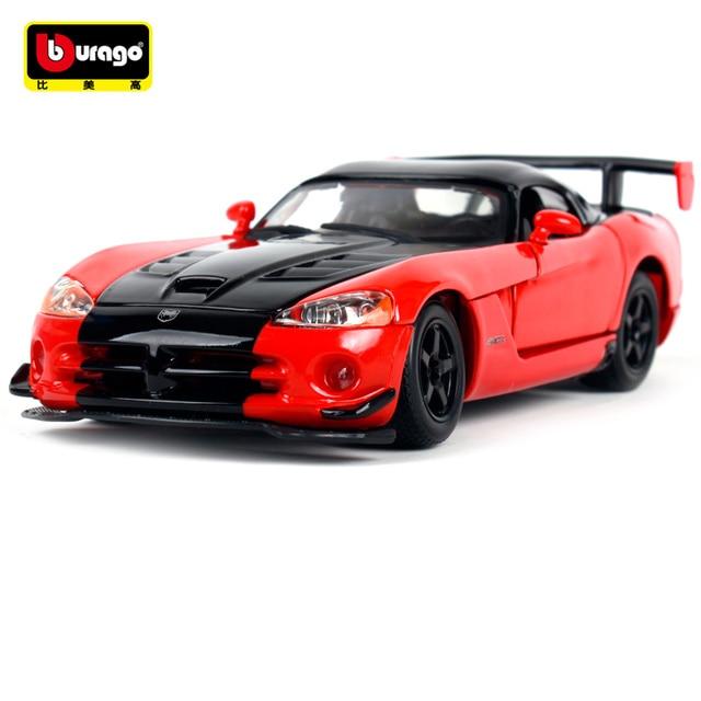 Bburago 1 24 Dodge Viper Srt 10 Acr Sports Car Cast Model Toy New
