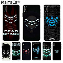 MaiYaCa dead space On Sale! Luxury Cool Case for Apple iPhone 8 7 6 6S Plus X 5 5S SE XR XS XS MAX Mobile Cover(China)