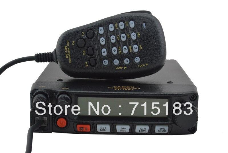 Station de radio de voiture Yaesu FT-1907R 55 watts 400-470 MHz émetteur-récepteur Mobile FM UHF/Radio Mobile/station de radio CB
