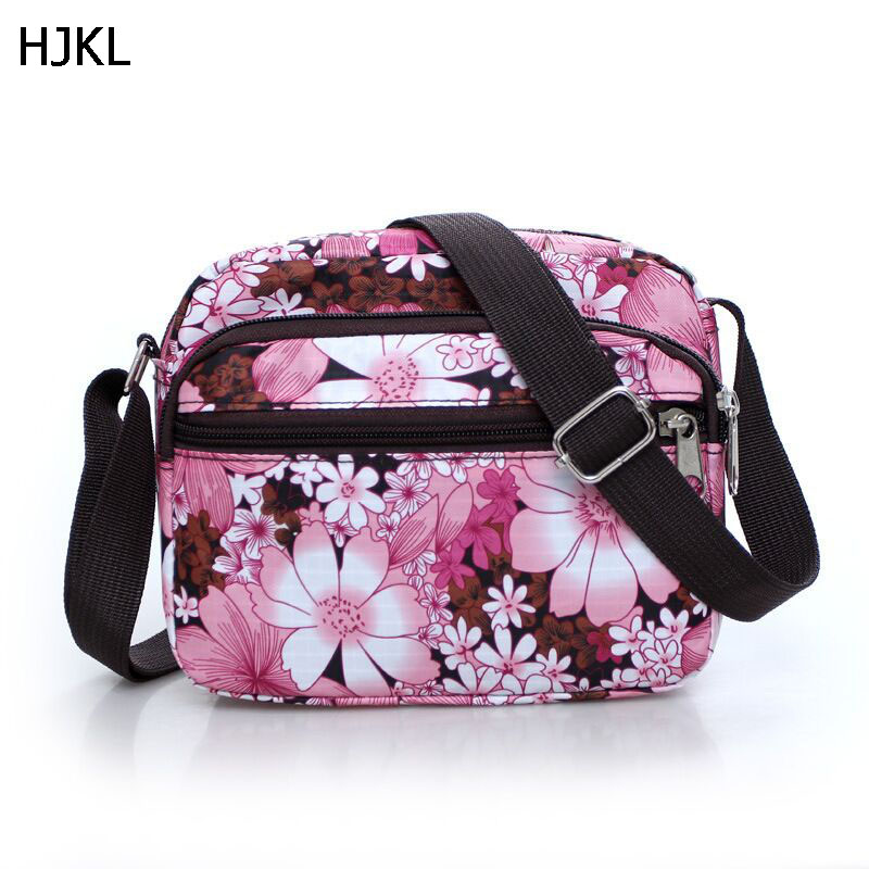 HJKL Shoulder Floral Small Bags Women Mini Hobo Oxford Strap Crossbody Bag Clutch Feminina Herald Fashion Brand Bolsas DR02