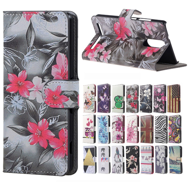 new styles 3ed1a ea05b US $4.99  case For Lenovo K5 Note cover red flower Magnetic Leather Wallet  Book Cover Case For Flip Lenovo Vibe K5 Note 5.5 inch Case bags-in Wallet  ...