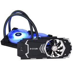 Alloyseed ID-COOLING ICEKIMO 240VGA-RGB Видеокарта кулер для воды двойной шарикоподшипник RGB вентилятор и боковой светильник Barfor GeForce/AMD