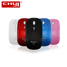 Ultra-thin Optical Bluetooth 3.0 Wireless Mouse 1200 DPI Computer Mice Gaming Mause Bluetooth Mouse Sem Fio For PC Tablet Laptop