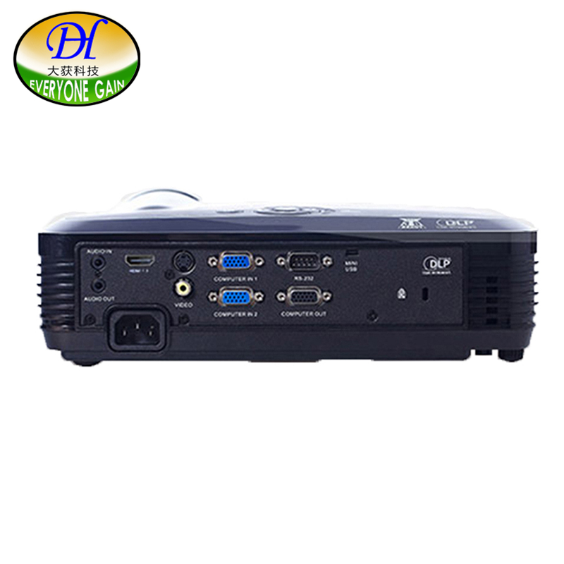 Everyone Gain DH L150X Home Theater 300inch Led DLP Projector Full HD 4500Lumens Bright Office Support