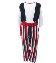 kids pirate costume boys striped pirate costume halloween costume pirate cosplay carnival costumes