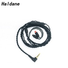 Free Shipping Haldane Headset Cable for  im50 im70 im01 im02 im03 im04 Earphone Replacement Cables with Mic free shipping haldane 1 2m earphone cable hifi headset line upgrade cable for im50 im70 im01 im02 im03 im04
