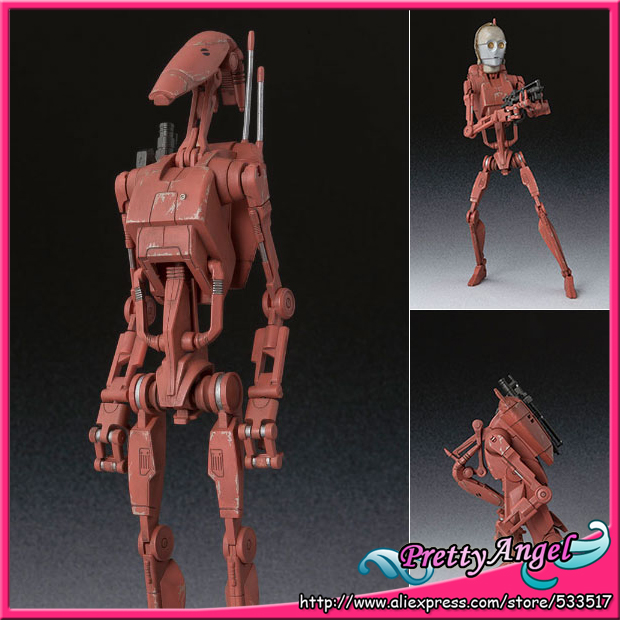 PrettyAngel - Genuine Bandai Tamashii Nations S.H.Figuarts Star Wars Battle <font><b>Droid</b></font> Geonosis Color <font><b>Action</b></font> <font><b>Figure</b></font>