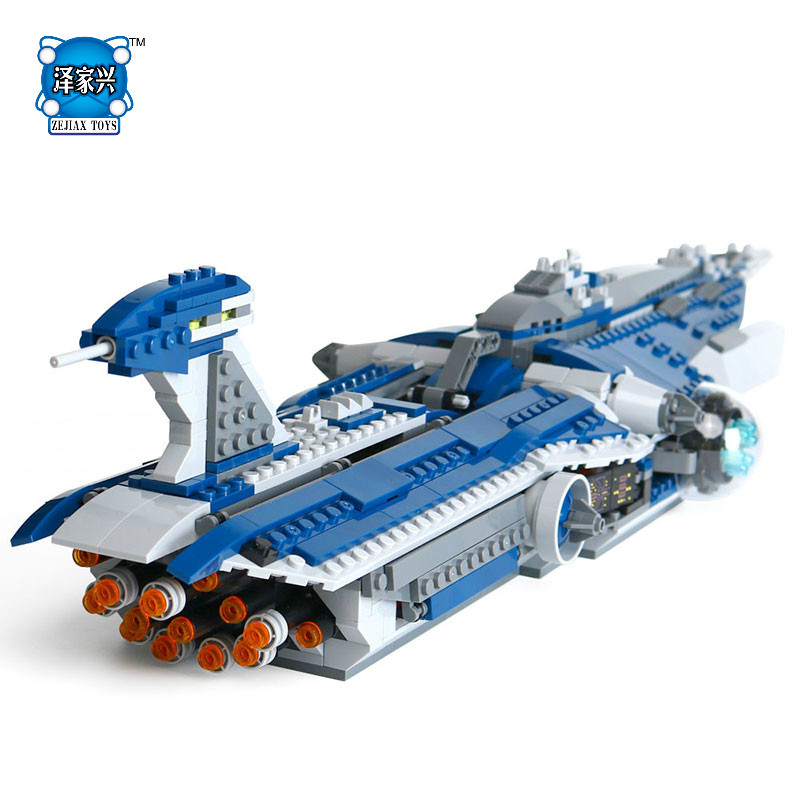 Lepins Star Series War The Limited Edition Malevolence Warship Set Children Building Blocks Bricks Figures Toys Gifts Model